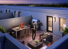 Millstone Phase V Rooftop Terrace