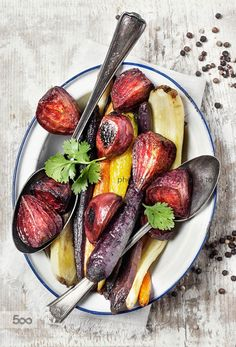 Roasted vegetables by ctotir2000 IFTTT 500px carrots closeup food food ...