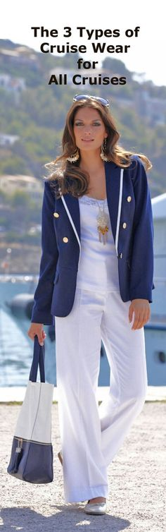 The 3 Different Categories of Cruise Wear