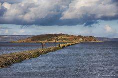 Crammond Island in the Firth of Forth, near Edinburgh