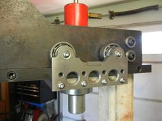 Hydraulic Press Fabrication and Cylinder Carriage