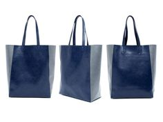 Color Panel Tote by Sorial. 100% Vegan Faux Leather. #vegan