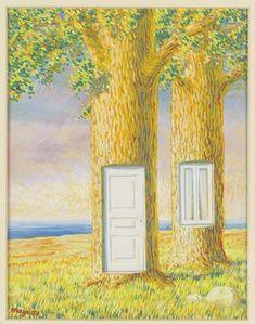 René Magritte : Sans titre [La vie de famille]