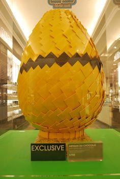 Display egg at Selfridges
