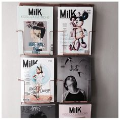 "s t y l i n g & c o n c e p t op Instagram: ""Look what I found on my trip to Maastricht. Finally a perfect place for my magazines! #milkmagazine #kidswear #pimpmyoffice #office #kidsfashion #kidsstylist #magazines #kidsmagazine"""