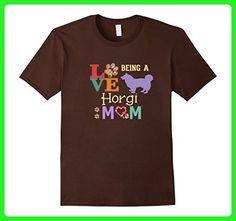 Mens Best Horgi Shirt for a Horgi Mom 2XL Brown - Relatives and family shirts (*Amazon Partner-Link)