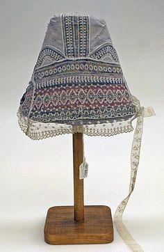 Wedding ensemble Date: 19th century Culture: French (Breton) Medium: (a, b) wool (c, d, e, l) cotton (f, g) silk (o, p) leather