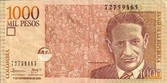 Billetes de Colombia, Personajes | mundonets