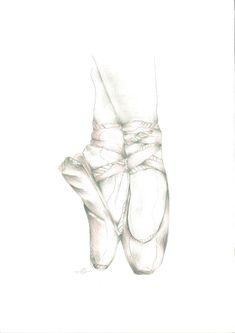 · Ballet / Grafito + Lápices colores ·