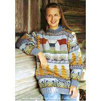 Design 'Lato' by textile artist Sirkka Könönen. Knit Art, Fair Isle Pattern, Textile Artists, Double Knitting, Fall Winter Outfits, Yarn Crafts, Knitting Yarn, Pullover, Wearable Art
