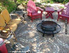 Wow - gravel patio   CHECK OUT MORE GRAVEL PATIO FURNITURE IDEAS AT DECOPINS.COM   #Gravel Patio #gravelpatio #gravelpatios #diypatio #diypatioideas #patio #installingpatiopavers #patiospinterest #brickpatiodesigns #paverpatiodesigns #paverpatio #stonepatio