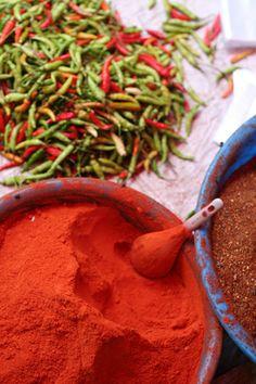 chilies and chili powder