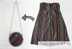 de vestido a bolso