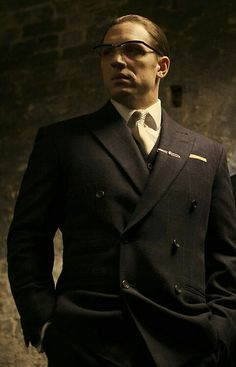 Tom Hardy photo shoot for Legend. Ronnie Kray