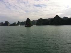 Boat trip in Ha long bay, Vietnam