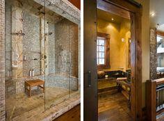 SUPER dream shower  Beartrap Residence-12-1 Kind Design