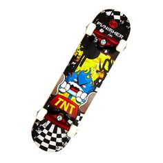 Punisher Skateboards TNT 31 in. ABEC-7 Complete Skateboard - 9002
