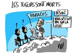 #CharlieHebdo   Posted on #Facebook