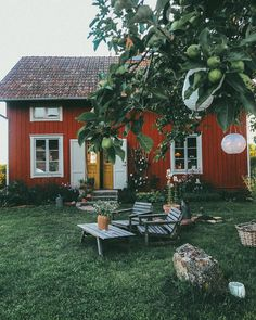 Swedish Cottage, Swedish House, Cozy House, Farm Life, My Dream Home, Garden Inspiration, Future House, Building A House, Home And Garden