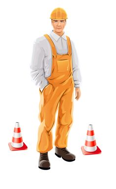 Road worker or construction worker - Яндекс.Фотки