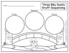 The Three Billy Goats Gruff Literacy Activities!