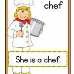 Jobs flashcards for kindergarten English Lessons For Kids, English Worksheets For Kids, Kids English, English Reading, English Activities, Learn English, Teaching Phonics, Primary Teaching, Preschool Learning Activities