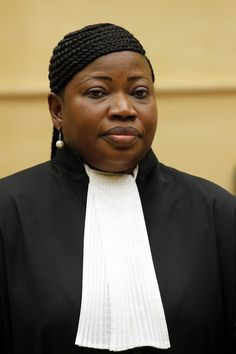 Fatou Bensouda: The Gambian lawyer became the first female chief prosecutor of the International Criminal Court in June. The Hague-based tribunal was established in 2002 to bring those accused of genocide, war crimes and crimes against humanity to justice. Bensouda, who will be the public face of the beleaguered court, is African; to date every one of the 25 suspects who have been the target of investigations or prosecutions by the ICC have been accused of perpetrating crimes in Africa.
