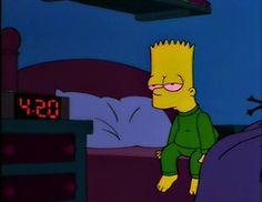Bart Simpson 420  @dabberworld