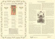Goigs nº 008 - Cristofol - BCN - 2003
