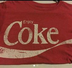 Enjoy coke coca cola small shirt