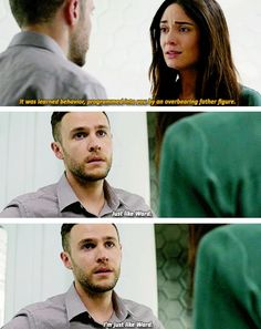 No, honey. Ward did it all of his own free volition. You were lied to, brainwashed. It was you, not a decoy, but NOT acting on your own!