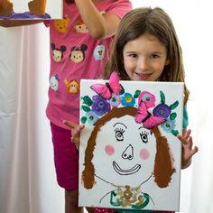 Frida Kahlo art for kids