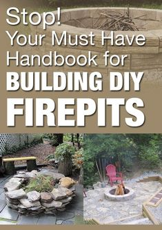 Your must have handbook for building DIY firepits