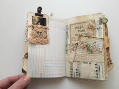 Tsunami Rose Designs: DT Project: Beth Wallen- Vintage Mini Junk Journal using various Ephemera . Art Journal Pages, Junk Journal, Journal Paper, Bullet Journal, Journal Covers, Art Journals, Vintage Journals, Fabric Journals, Junk Art