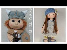Amigurumis| Muñecos de crochet| Muñecas de ganchillo| Crochet dolls. Gali Craft - YouTube