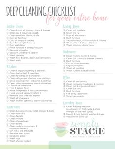 Grab a free copy of the printable, Deep Cleaning Checklist for Your Entire Home, and get to work. This comprehensive list covers all the rooms in your home. Cleaning Tips Deep Cleaning Checklist for Your Entire Home Deep Cleaning Checklist, House Cleaning Tips, Cleaning Hacks, Cleaning Schedule Printable, Cleaning Schedules, Clean House Checklist, Household Cleaning Schedule, Spring Cleaning List, Cleaning Routines