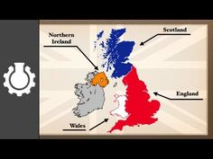 CGPGrey: The Difference between the United Kingdom, Great Britain and England Explained