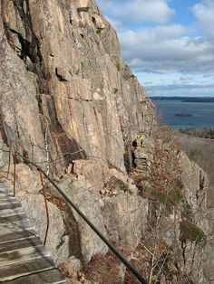 The Precipice Trail, Acadia National Park
