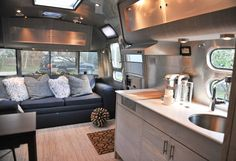 Airstream interior by Good Cottage---This is absolutely beautiful!!!