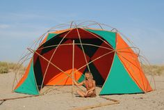 bamboo geodesic dome star dome 2