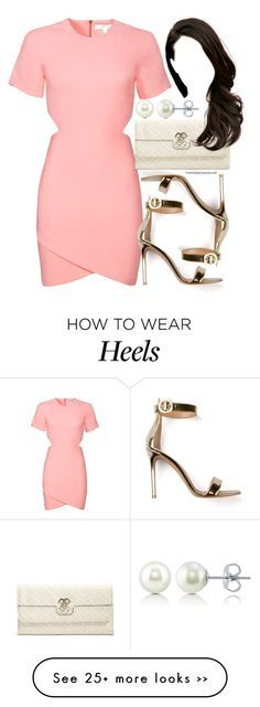 """""""Untitled #321"""" by foreverdreamt on Polyvore featuring Elizabeth and James, Gianvito Rossi, GUESS and BERRICLE"""