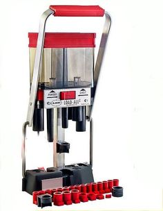 Lee Precision Shotshell Reloading Press 12 Gauge Load All II. Twenty-four shot and powder bushings are included for free, you won't be disappointed. Lee Precision Shotshell Reloading Press 12 Gauge Load All II. Lee Reloading, Reloading Room, Reloading Supplies, Reloading Press, Reloading Equipment, Shotshell Reloading, Gunsmithing Tools, Shooting Guns, Guns And Ammo
