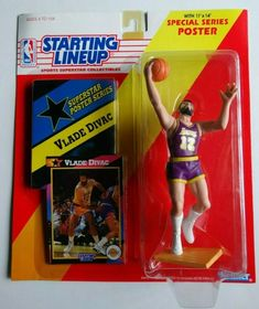Basketball Stuff, Nba Basketball, Nba Action Figures, Los Angeles Lakers, Lineup, Superstar, Baseball Cards, Sports, Hs Sports