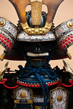 Shining Japanese armor