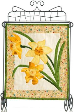 Patch Abilities Inc. Monthly Minis #4 available at www.patchabilities.com MM403 Daffodils