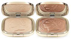 Dolce & Gabbana Glow Illuminating Powder Collector's Edition  and Glow Bronzing Powder Collector's Edition Desert #beauty #makeup