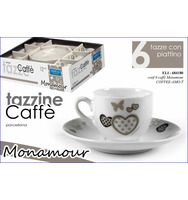 Tazzine caffè mon amour  vendita: 15 euro