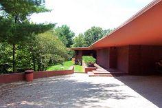 Walter House aka Cedar Rock / 2611 Quasqueton Diagonal Blvd.. Independence, IA / 1948-50 / Usonian / Frank Lloyd Wright --