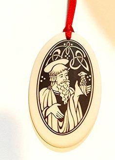 St. Kevin of Glendalough Ornament, Catholic, Religious, P... https://www.amazon.com/dp/B01M0G4FJB/ref=cm_sw_r_pi_dp_x_dA70zbS2JXXP1