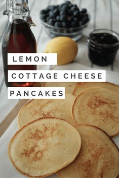Captivating Lemon Cottage Cheese Pancakes ~ Http://thetravelbite.com